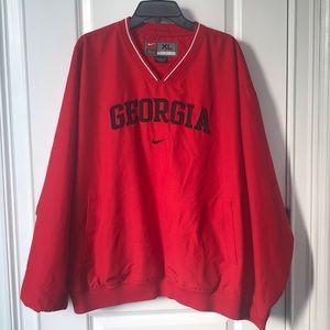 Nike men's Georgia pullover sz xl